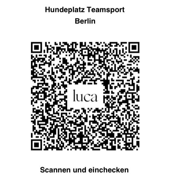 LucaApp QR Hundeplatz